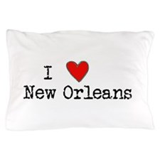 I Love New Orleans Pillow Case