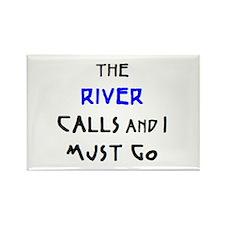 river calls Rectangle Magnet