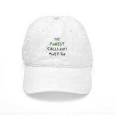 forest calls Baseball Cap
