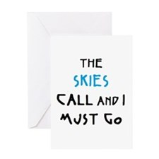 skies call Greeting Card