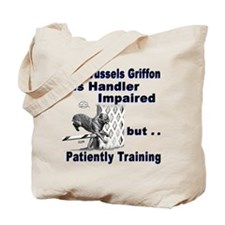 Brussels Griffon Agility Tote Bag