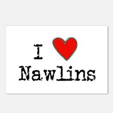 I Love NAWLINS Postcards (Package of 8)