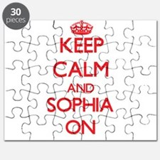 Keep Calm and Sophia ON Puzzle