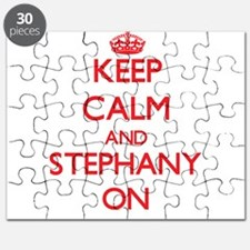 Keep Calm and Stephany ON Puzzle