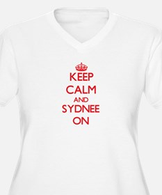 Keep Calm and Sydnee ON Plus Size T-Shirt