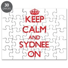 Keep Calm and Sydnee ON Puzzle