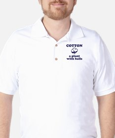 Cotton Balls Golf Shirt