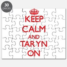 Keep Calm and Taryn ON Puzzle