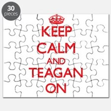 Keep Calm and Teagan ON Puzzle