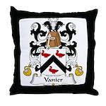 Vanier Family Crest Throw Pillow