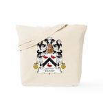 Vanier Family Crest Tote Bag