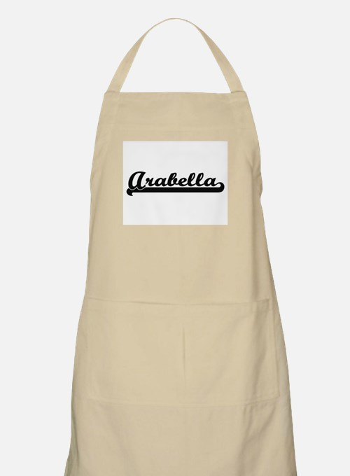 Arabella Classic Retro Name Design Apron