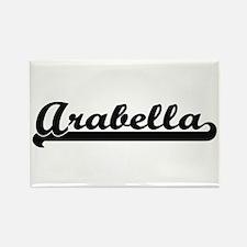 Arabella Classic Retro Name Design Magnets
