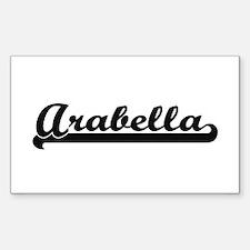 Arabella Classic Retro Name Design Decal