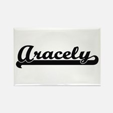 Aracely Classic Retro Name Design Magnets