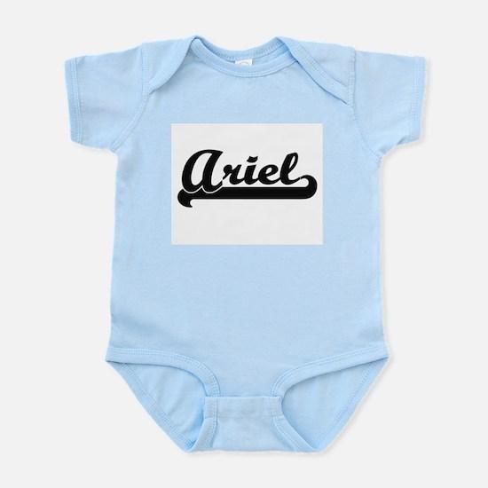 Ariel Classic Retro Name Design Body Suit