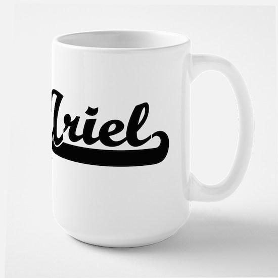 Ariel Classic Retro Name Design Mugs