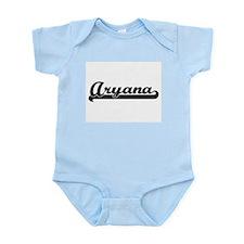Aryana Classic Retro Name Design Body Suit