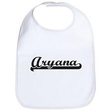 Aryana Classic Retro Name Design Bib