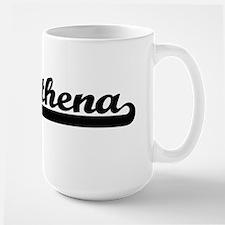 Athena Classic Retro Name Design Mugs