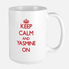 Keep Calm and Yasmine ON Mugs