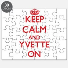 Keep Calm and Yvette ON Puzzle