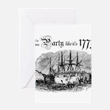 Party like It's 1773 Greeting Cards