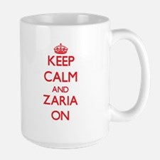 Keep Calm and Zaria ON Mugs