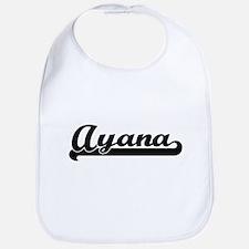 Ayana Classic Retro Name Design Bib