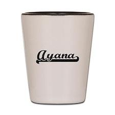 Ayana Classic Retro Name Design Shot Glass