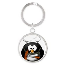 Penguin-Cartoon 017 Keychains