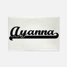 Ayanna Classic Retro Name Design Magnets