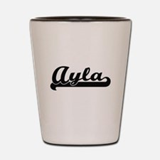 Ayla Classic Retro Name Design Shot Glass