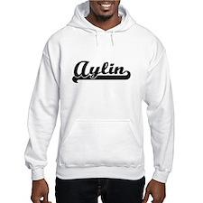 Aylin Classic Retro Name Design Hoodie Sweatshirt