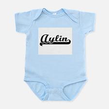 Aylin Classic Retro Name Design Body Suit