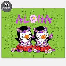 Aloha Penguins Puzzle