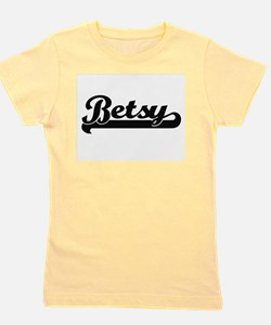 Betsy Classic Retro Name Design Girl's Tee