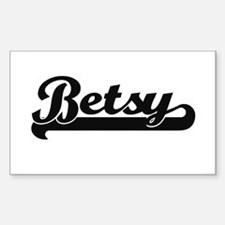 Betsy Classic Retro Name Design Bumper Stickers