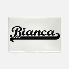 Bianca Classic Retro Name Design Magnets