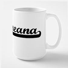 Breana Classic Retro Name Design Mugs