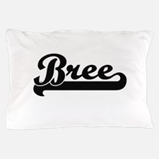 Bree Classic Retro Name Design Pillow Case