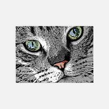 Cat_2015_0503 5'x7'Area Rug