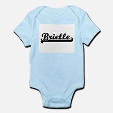 Brielle Classic Retro Name Design Body Suit