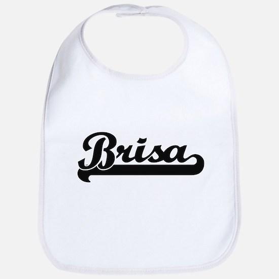 Brisa Classic Retro Name Design Bib