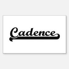 Cadence Classic Retro Name Design Decal