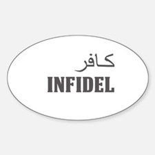 Infidel! Decal