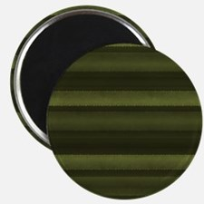 Elegant Olive Green Stripes Magnet