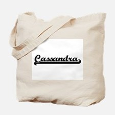 Cassandra Classic Retro Name Design Tote Bag