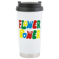 flowerPower Travel Mug