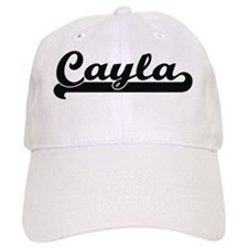 Cayla Classic Retro Name Design Baseball Cap